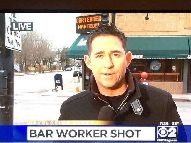 bartender shot