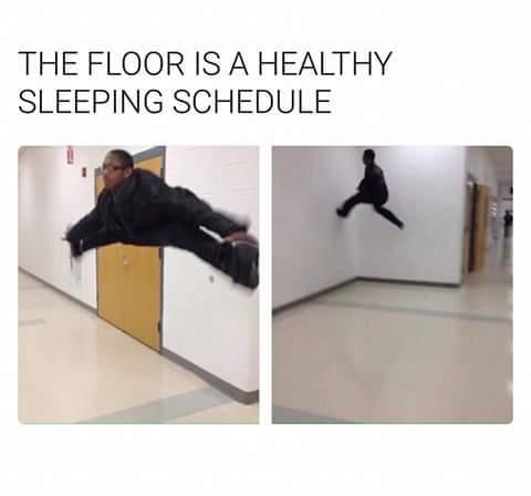 The floor is meme dump ttg vault for Is it healthy to sleep on the floor